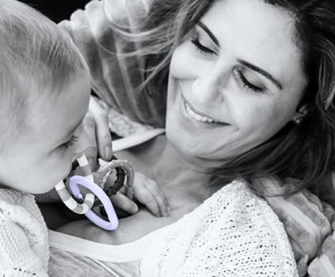 Minna, filha de Guilhermina e Leonardo, completa dois anos em setembro (Foto: Arquivo pessoal)