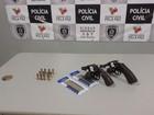 Jogador de futebol é preso com armas no Sertão da Paraíba