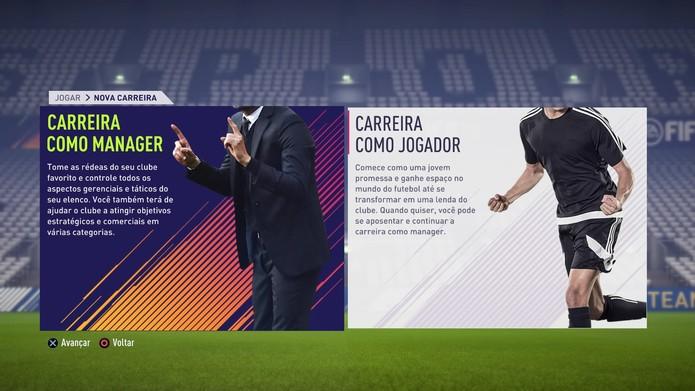 Modo Carreira de FIFA 18 (Foto: Reprodução / TechTudo)