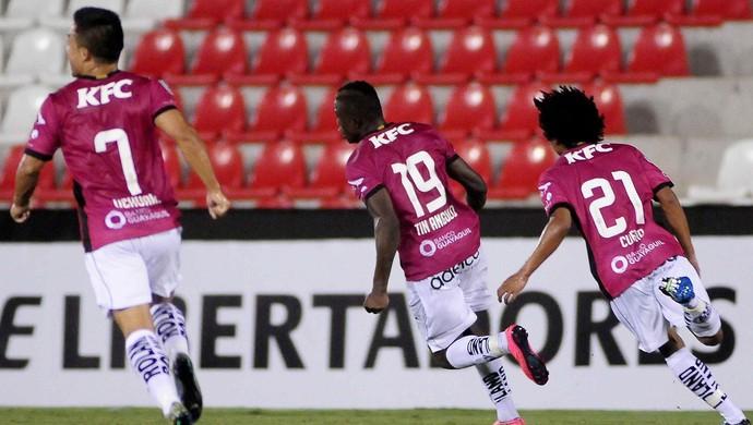 Angulo; Guaraní x Independiente Del Valle; Libertadores (Foto: EFE)