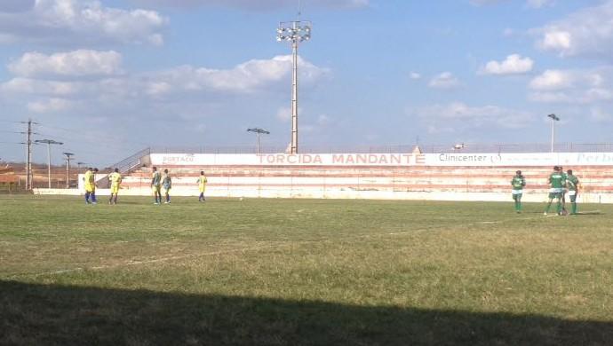 Barbalha x Alto Santo Série B do Cearense Estádio Inaldão (Foto: Fabiano Rodrigues/TV Verdes Mares)