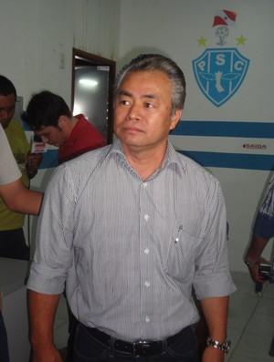 Oscar Yamato, diretor executivo do Paysandu (Foto: Globoesporte.com)