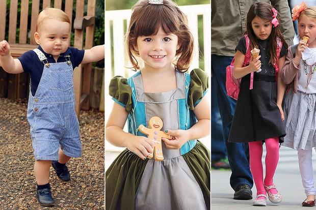 Quiz - Filhos estilosos de famosos - Príncipe George, Malu e Suri Cruise (Foto: Agência Reuters - Instagram / Reprodução - AKM-GSI / AKM-GSI)