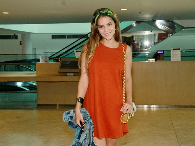 Isabella Santoni em peça de teatro na Zona Oeste do Rio (Foto: Graça Paes/ Brazil News)