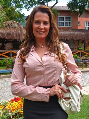 Patrícia Naves será Yvete (Foto: Flor do Caribe / TV Globo)