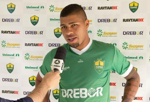 Zagueiro Egon, do Cuiabá (Foto: Pedro Lima/Cuiabá Esporte Clube)