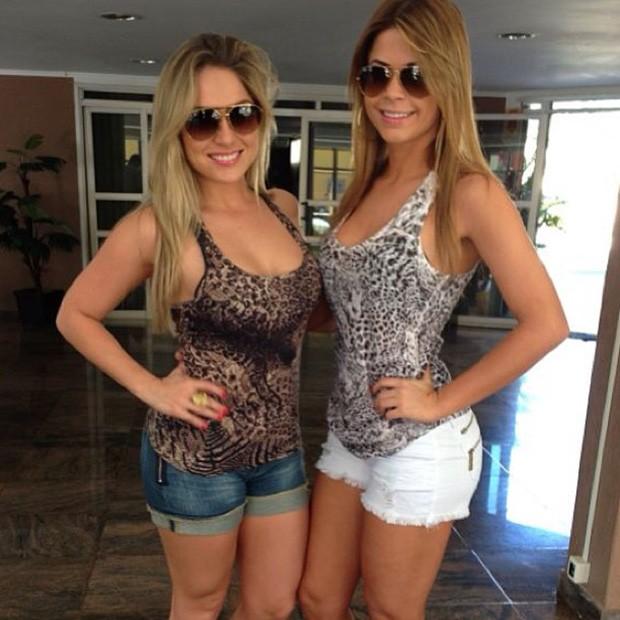 Ex-BBB Renatinha e Cacau Colucci (Foto: Instagram / Reprodução)