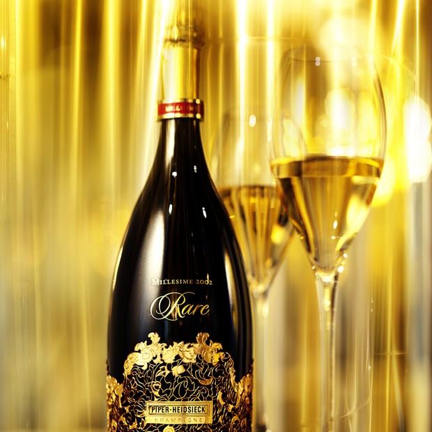 O Cuvée de Prestige Piper-Heidsieck Rare Millésime 2002 Brut, eleito o champagne da década 2000 (Foto: Divulgação)
