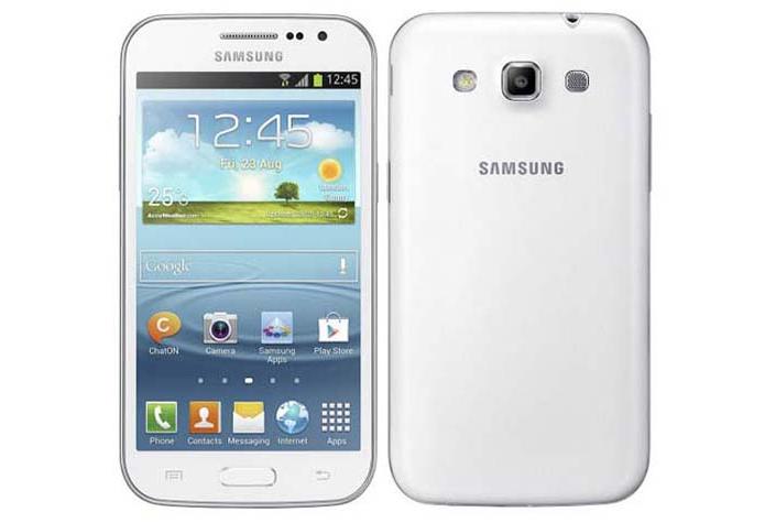 Galaxy Win tem tela de 4,7 polegadas (Foto: Divulgação/Samsung)