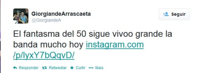 Arrascaeta Defensor-URU twitter (Foto: Reprodução / Twitter )