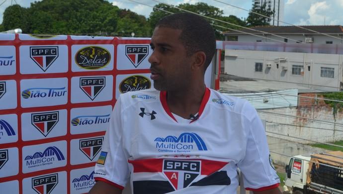 Leandro; São Paulo-AP; Futebol (Foto: John Pacheco/GE-AP)