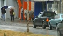 Chuva melhora qualidade do ar em Itapeva (Reproduo TV TEM)