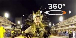 360 GRAUS: dê giro pelos desfiles da São Clemente e da Portela (Veja360)
