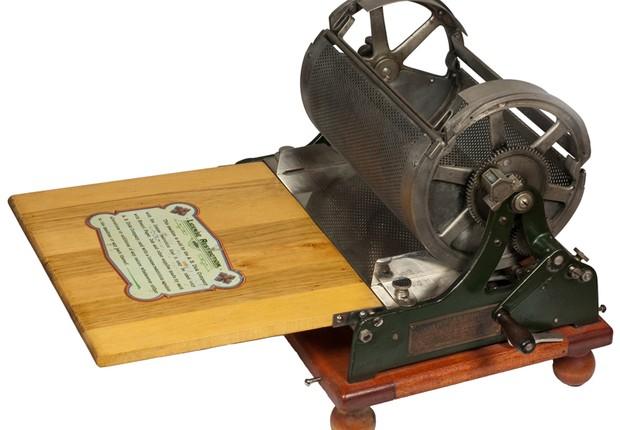 Mimeógrafo de Thomas Edison (Foto: Reprodução)