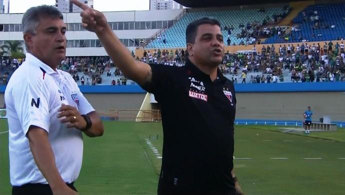 Marcelo Cabo - técnico do Atlético-GO (Foto: Reprodução / PFC)