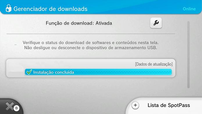Espere o download e instalação (Foto: reprodução/Murilo Molina)