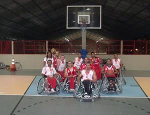 América Tigres - basquete de cadeira de rodas (Foto: Divulgação)