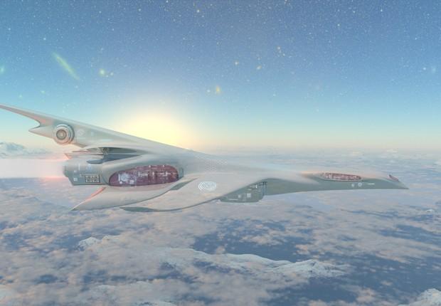 Aviões mais rápidos e silenciosos, minimizando seu impacto ambiental. (Foto: Thinkstock)