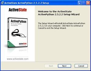 ActivePython, intalar python
