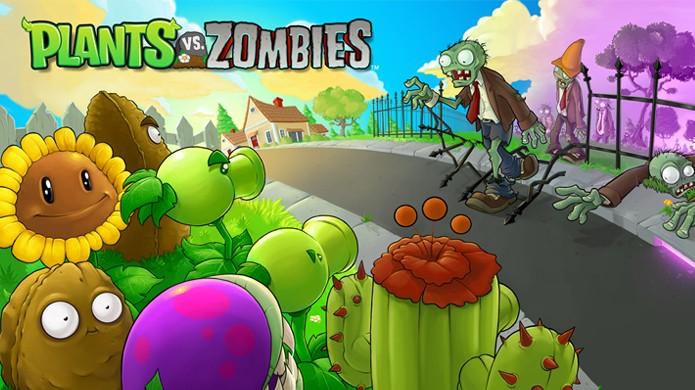 Plants vs. Zombies se tornou um grande fenômeno dos jogos esbanjando carisma e diversão (Foto: Divulgação)