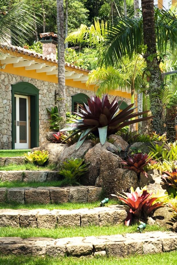 Casa de praia em Paraty une luxo, história e vista para o mar (Foto: Tuca Reinés/divulgação)