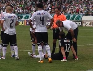 Cassio Corinthians (Foto: Leo Bianchi / TV Globo)