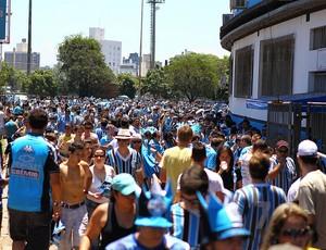 Torcida do Grêmio na despedida do Olímpico (Foto: Lucas Uebel/Divulgação, Grêmio)