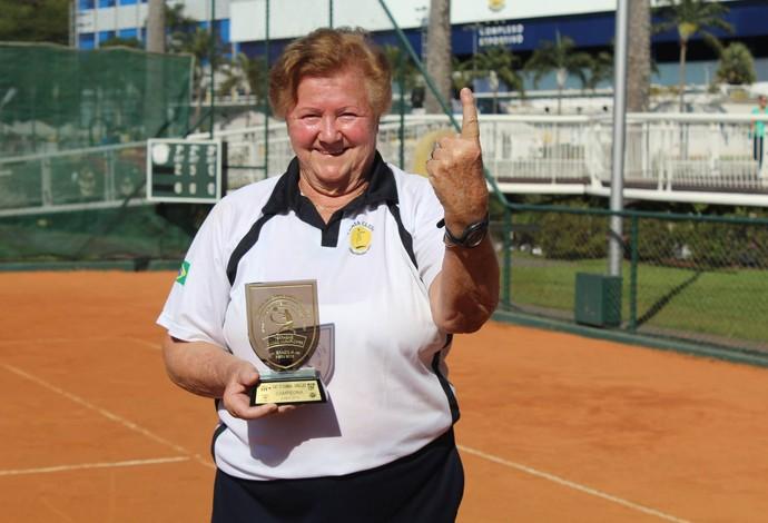 Christa Coelho, conhecida como Frida, tenista de Uberlândia (Foto: Praia Clube/Divulgação)