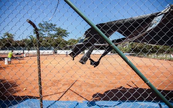 Complexo Desportivo do Ibirapuera (Foto: Rogério Cassimiro)