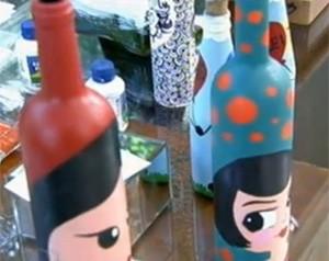 Siga as dicas e faça garrafas decoradas (Foto: Mais Você / TV Globo)