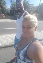 Mulher Filé contrata personal trainer de Viviane Araújo: 'Agora vai'