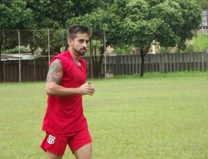 O meia Ricardinho é a esperança de gols do Saci. (Foto: Patrícia Belo/ Globoesporte.com)