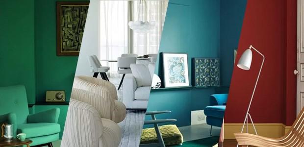 Decoração de sala de estar. Como escolher (Foto: Casa Vogue)