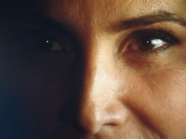 Wanda acelera com sangue nos olhos (Foto: Salve Jorge/TV Globo)