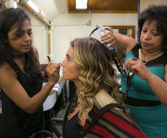 Maquiagem de Atena pode ser usada em diversas ocasiões (Foto: Inácio Moraes/ Gshow)