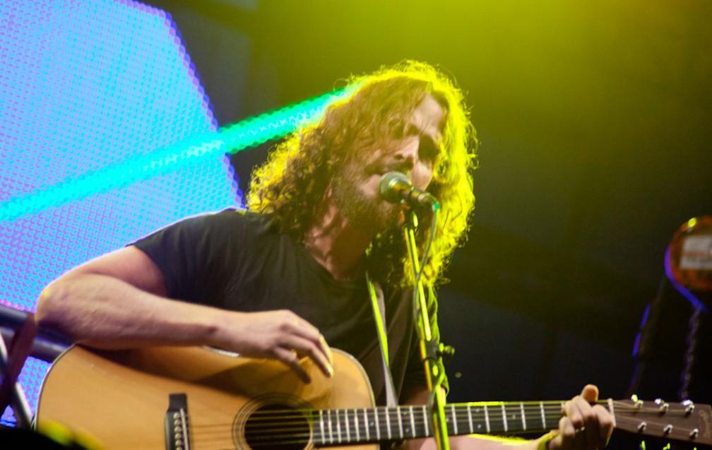 Chris Cornell (Foto: Caio Kenji / G1)