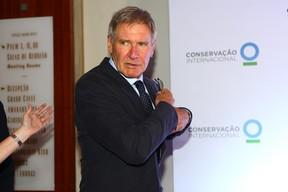 Harrison Ford no jantar de lançamento do Centro de Sustentabilidade das Américas (Foto: Iwi Onodera / EGO)