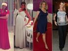 Ana Hickmann, Fernanda Motta, Drew Barrymore... Veja o estilo das famosas que estão grávidas