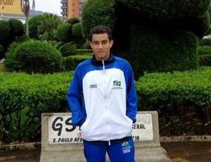 Jorge Magno Ferreira de Carvalho, paratleta paraense de futebol de 7 (Foto: Divulgação / Agência Pará)