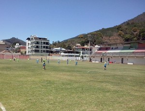 Estádio Olímpio Perim, do Rio Branco de venda Nova (Foto: Arquivo Pessoal/Márcio Willian Cerebrinho)
