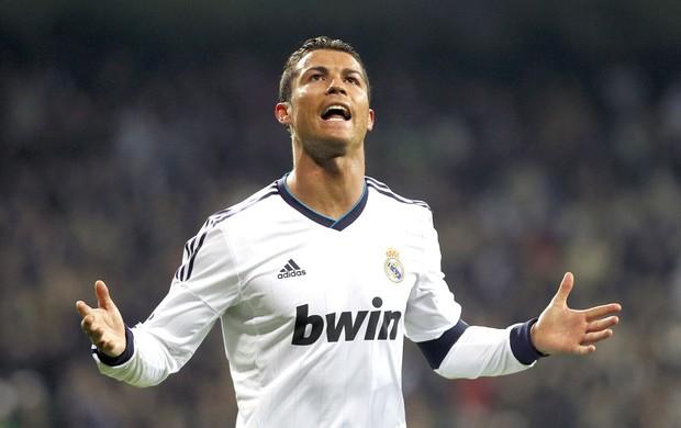 Cristiano Ronaldo comemora gol do Real madrid contra o real sociedad (Foto: Agência Reuters)