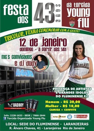 43 anos Fluminense (Foto: Facebook)