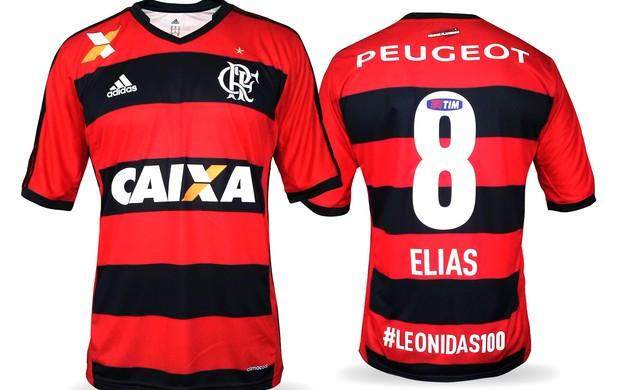 Camisa Flamengo 9 (Foto: Fred Gomes)