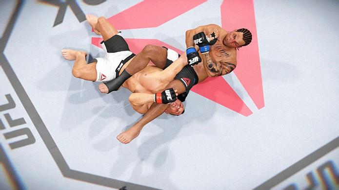 Finalize todos no caminho rumo ao topo de EA Sports UFC 2 (Foto: Reprodução/Thiago Barros)