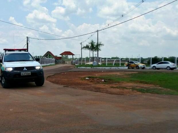 Princípio de motim ocorre em presídio de Rio Branco (Foto: Iryá Rodrigues/G1)