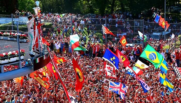 Pódio em Monza