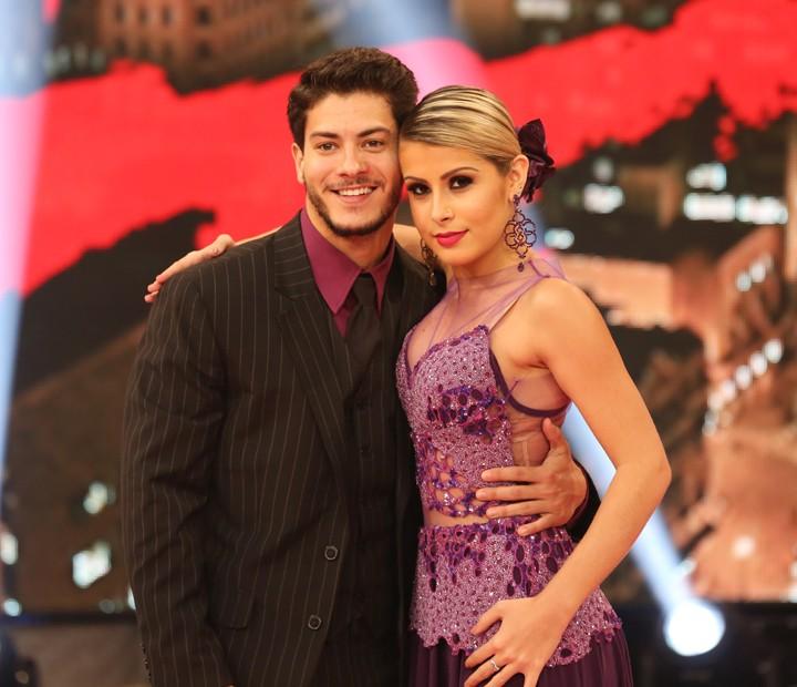 Arthur Aguiar e Mayara Araújo mandam bem no tango (Foto: Carol Caminha/ Gshow)