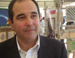 Charles Maia, diretor-presidente da Arena das Dunas (Foto: Matheus Magalhães/Globoesporte.com)