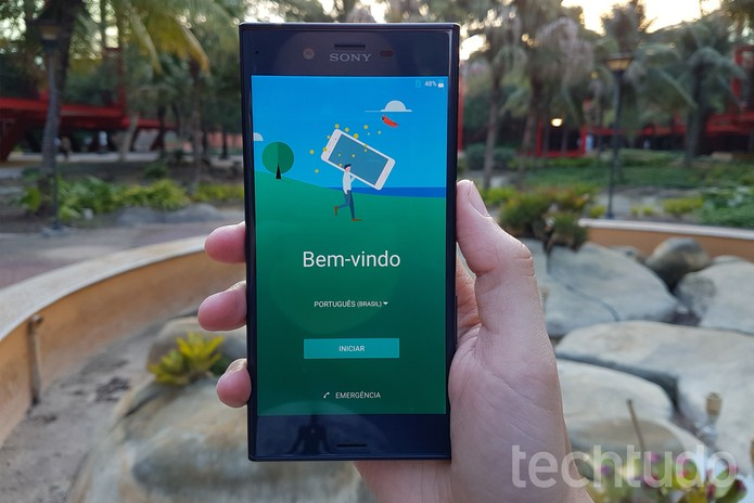 [Marca] Sony Xperia XZ (Foto: Thássius Veloso/TechTudo)