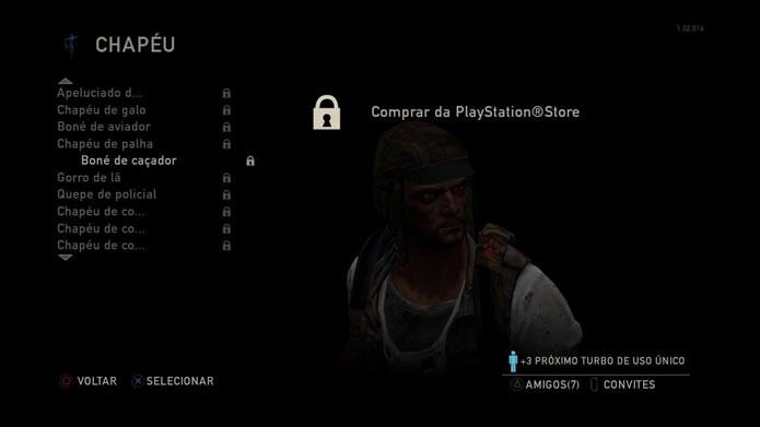 O game conta com uma grande variedade de itens (Foto: Reprodução/Murilo Molina)